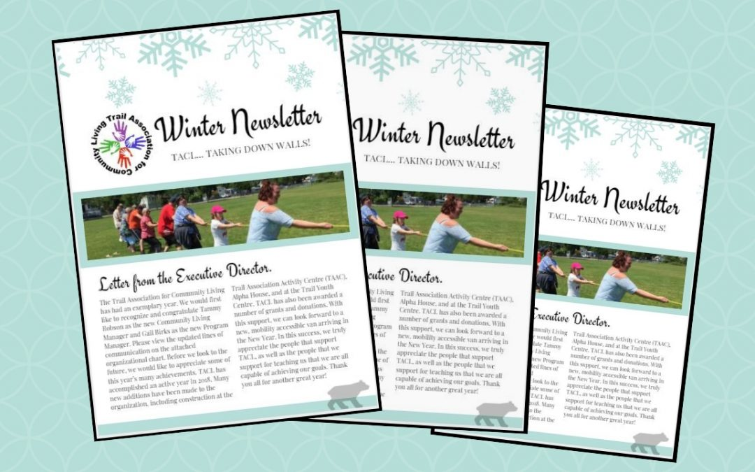 Check Out the TACL 2018 Winter Newsletter