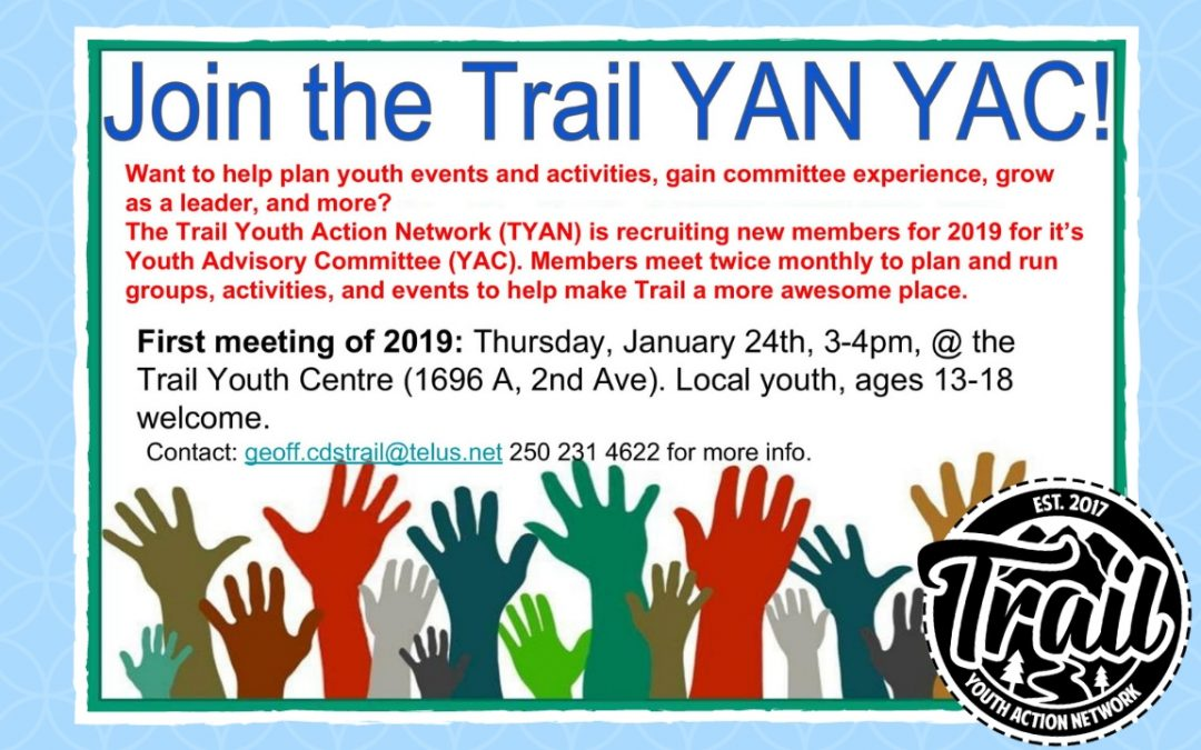 Join the Trail Youth Advisory Council!